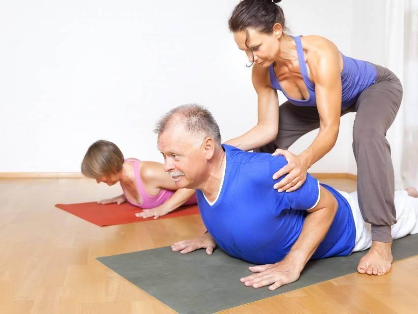 Йога для пенсионеров и тех кому за 50