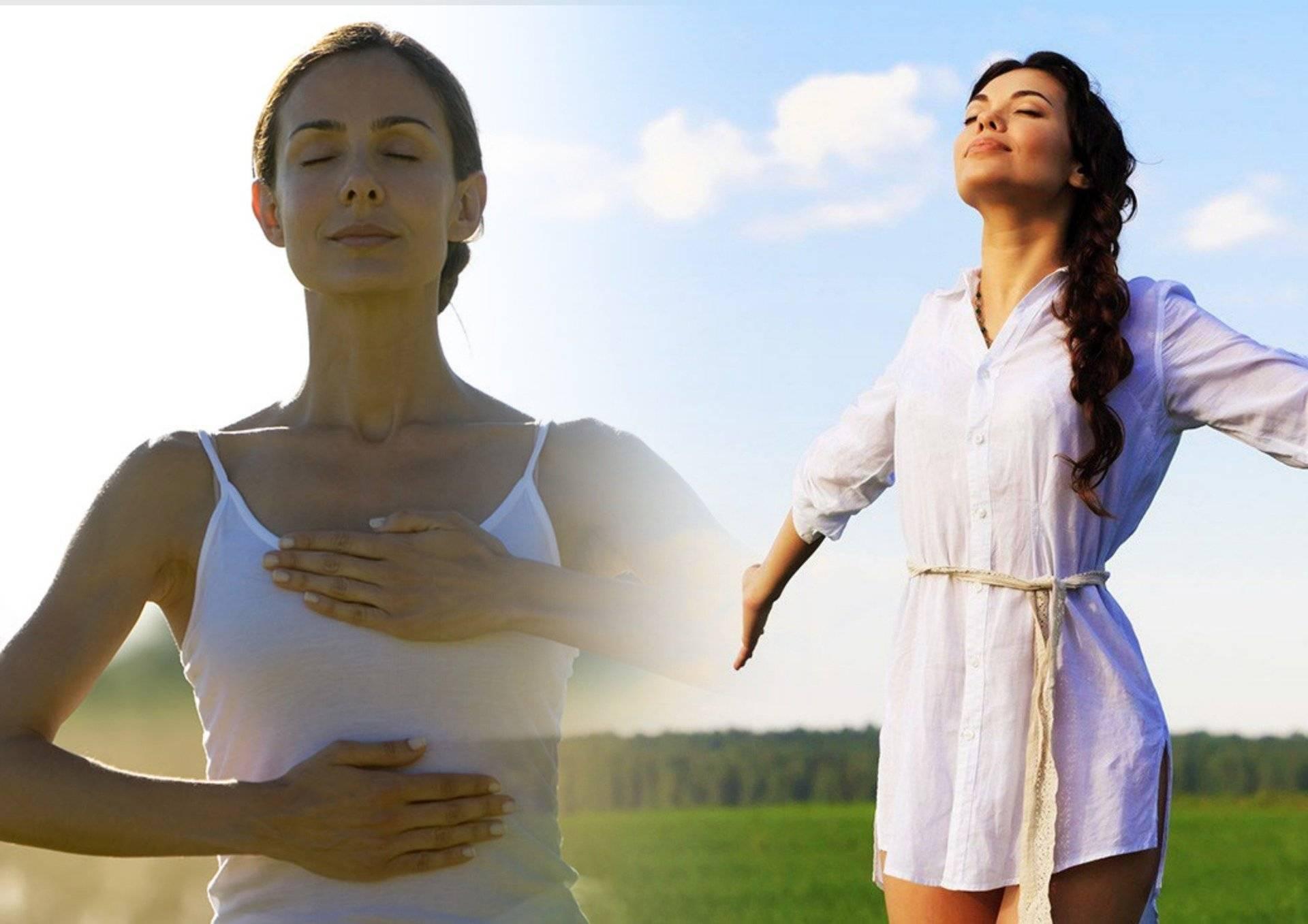 Основные дыхательные упражнения – пранаямы