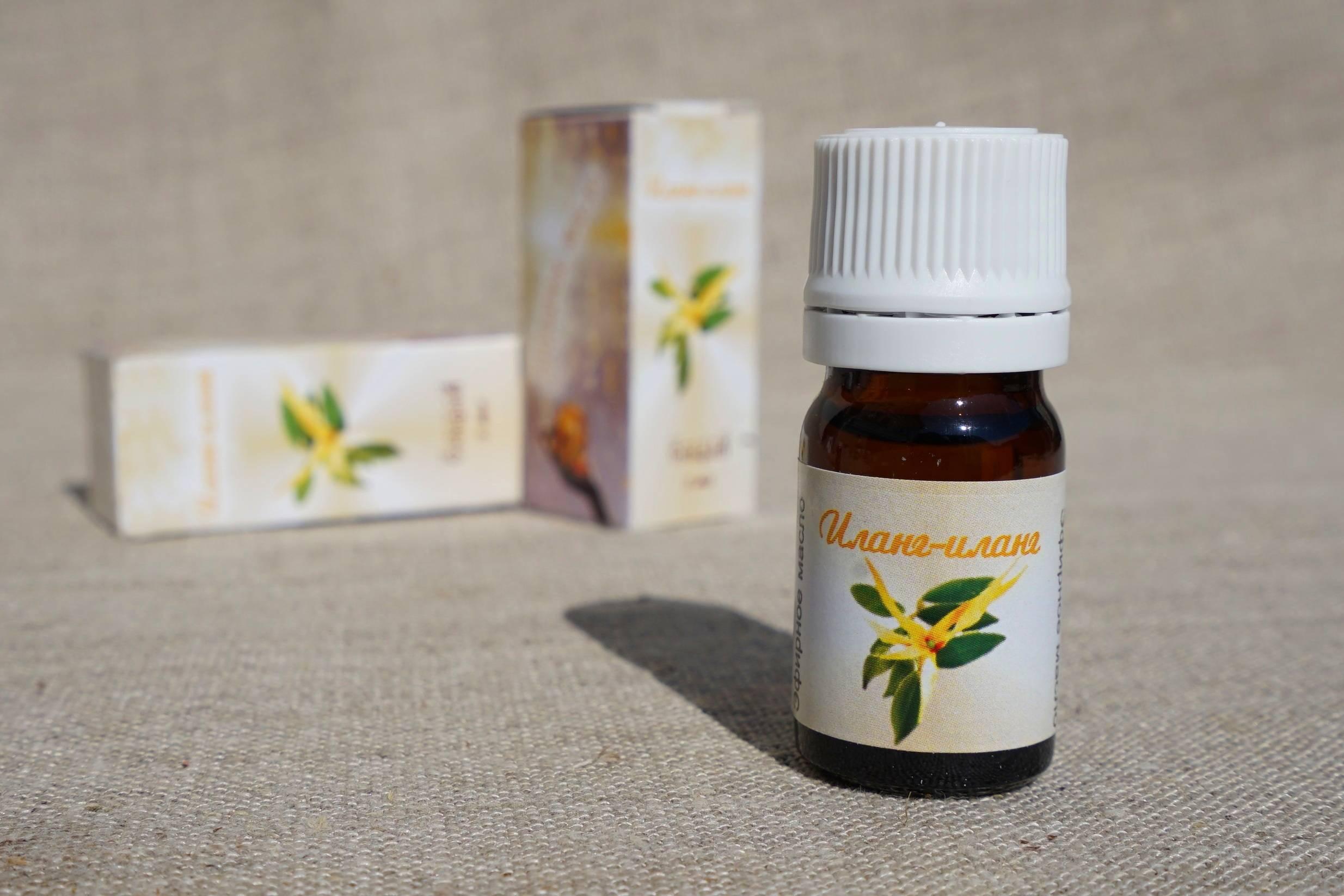 Эфирное масло иланг-иланг — свойства и применение, польза и вред