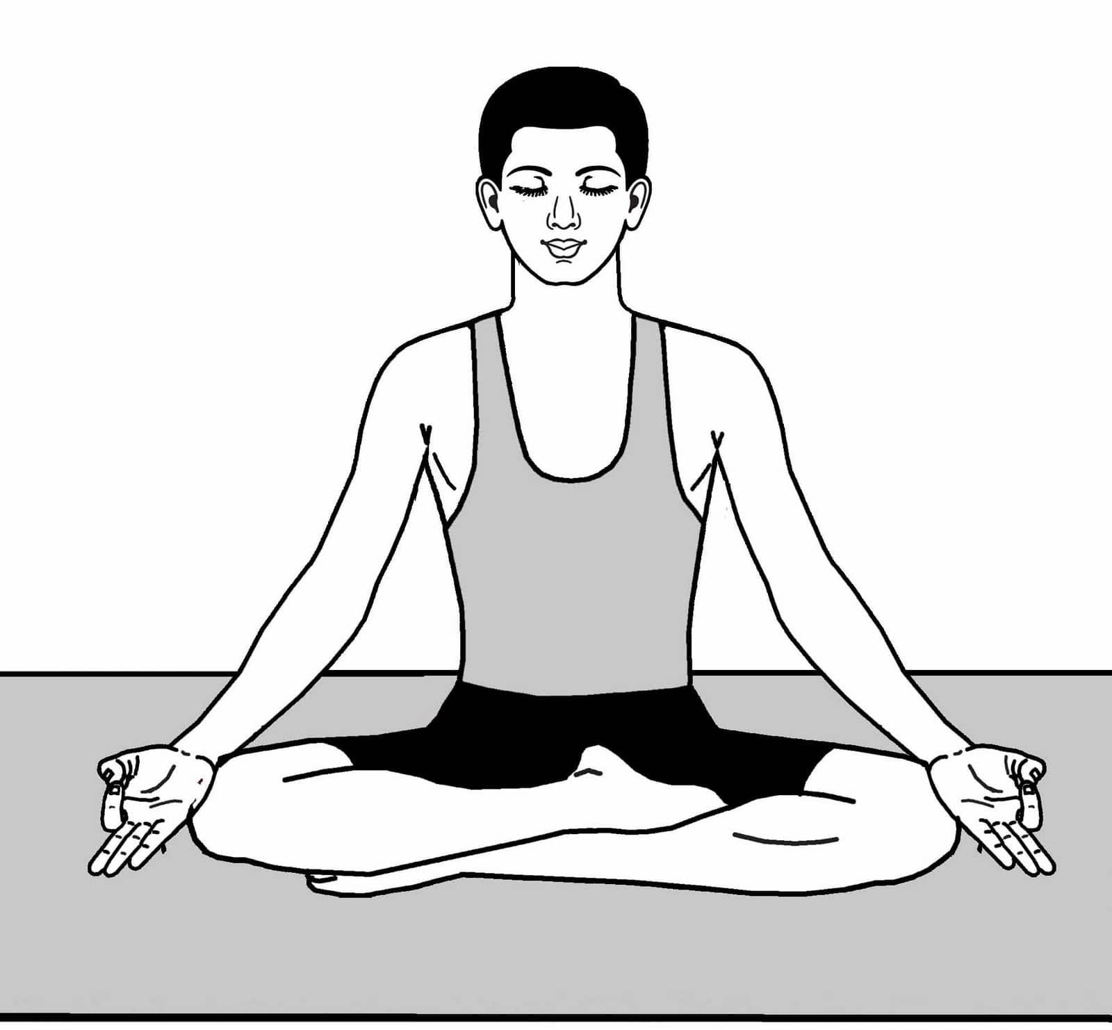 Техника выполнения полного йоговского дыхания: польза и вред, а также видео-инструкция