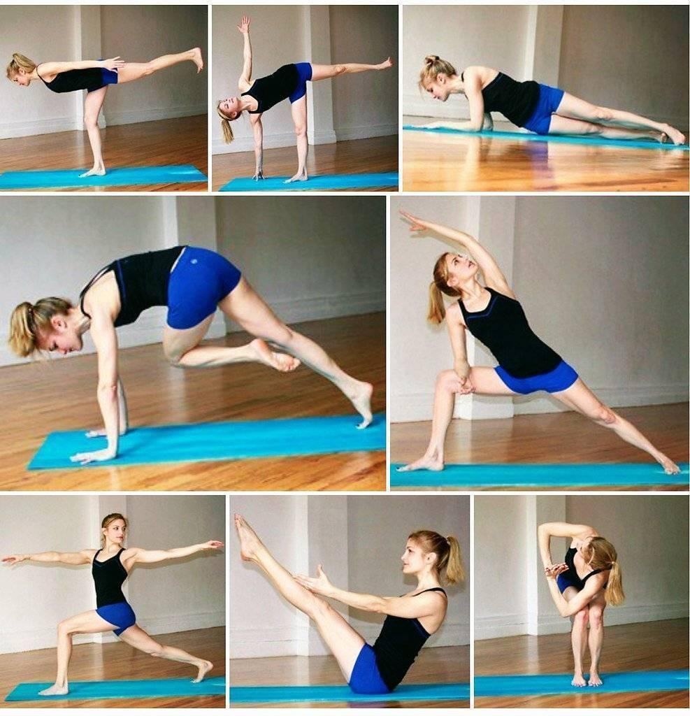 Йога для похудения живота и боков: комплекс упражнений в домашних условиях