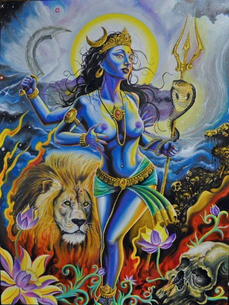 Один из самых известных богов в индии – обезьяноподобный хануман