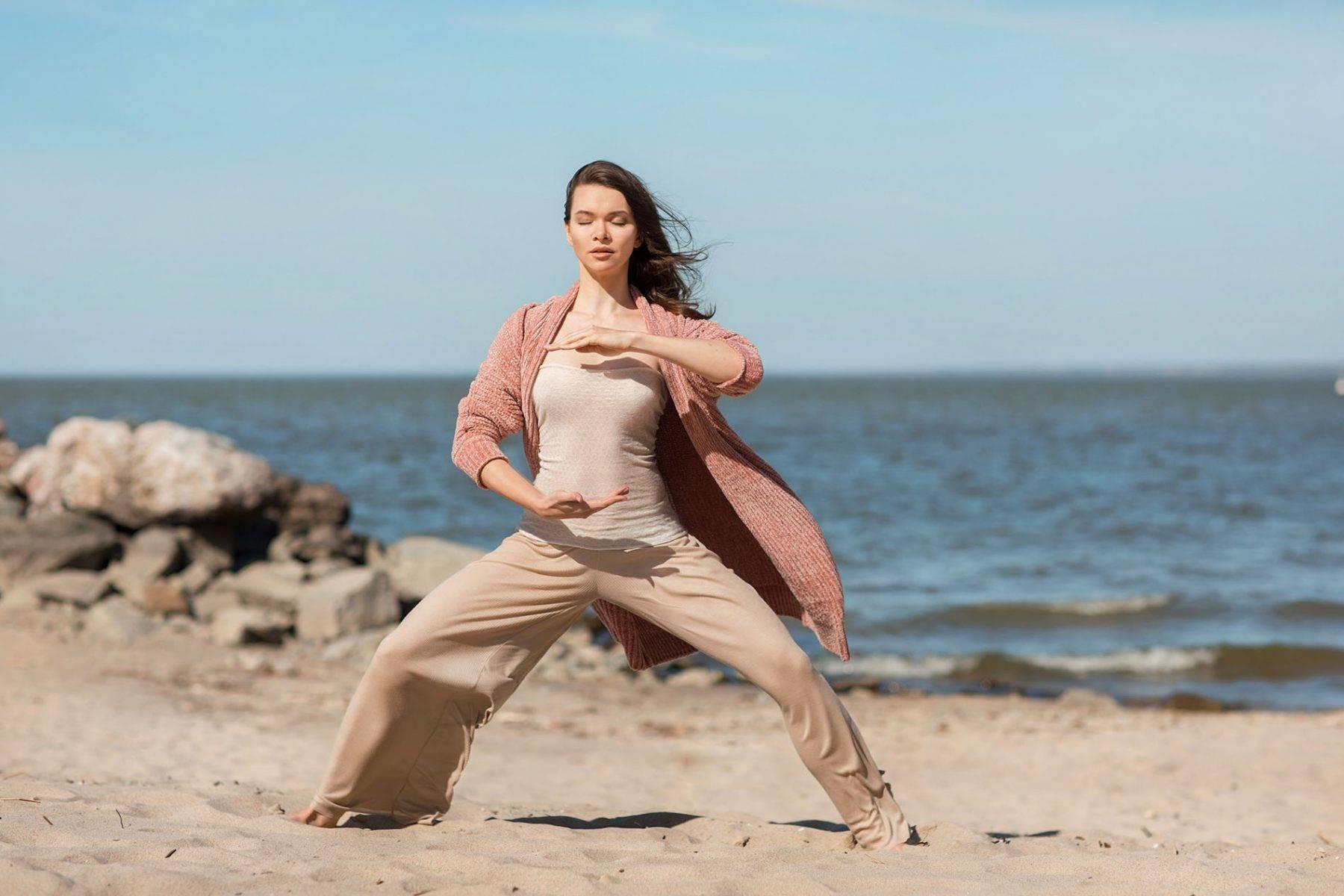 Даосская йога для женщин: упражнения для похудения