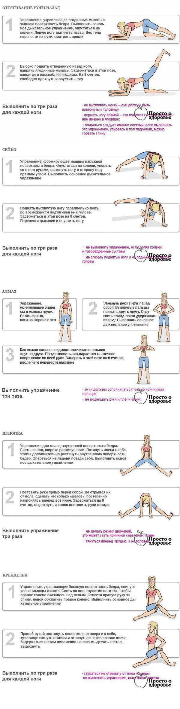Дыхательная гимнастика для быстрого похудения: упражнения, отзывы - минус 12 кг легко - похудейкина
