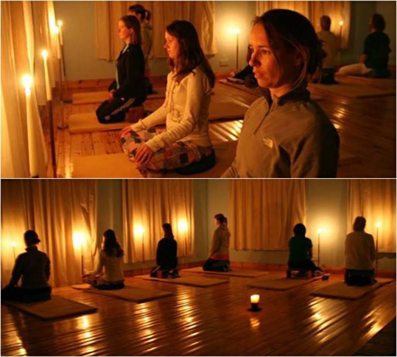 Медитация тратака на свечу: практика для восстановления зрения