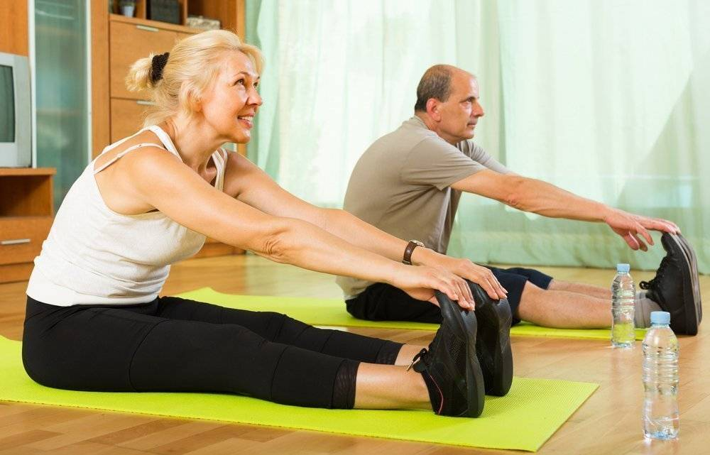 Асаны йоги для пенсионеров