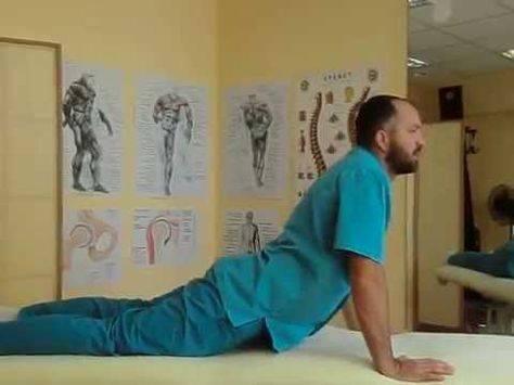 Комплекс упражнений при шейной грыже позвоночника