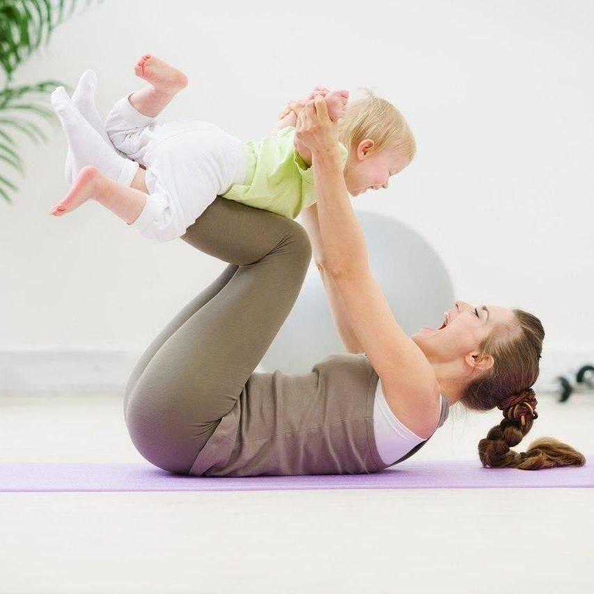 Йога после родов упражнения дома: восстановление