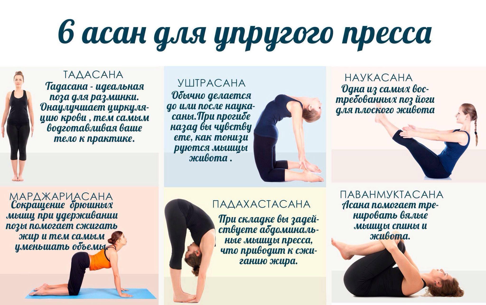 Йога для начинающих для похудения в домашних условиях, упражнения